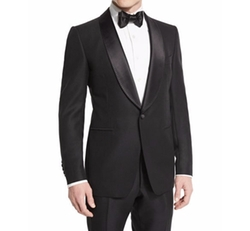 Tom Ford  - Buckley-Base Solid Tuxedo Jacket