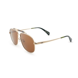 Toms - Booker Satin Gold Sunglasses