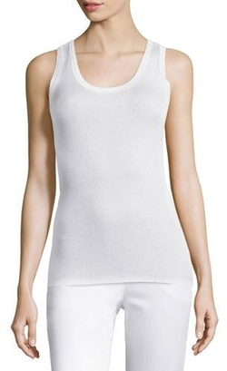 Magaschoni - Ribbed Silk-Cashmere Tank