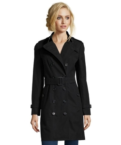 Burberry  - Cotton Queenshouse Double Breasted Trench Coat