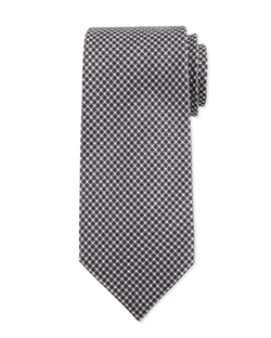 Tom Ford - Neat Herringbone Silk Tie
