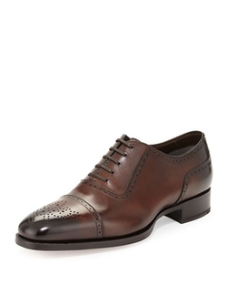 Tom Ford	  - Austin Cap Toe Oxford Shoes
