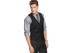 Alfani RED  - Solid Slim-Fit Vest