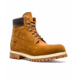 Timberland - Nubuck Lace-Up Boots