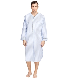 Brooks Brothers - Alternating Bold Stripe Nightshirt