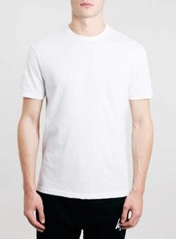 Topman - White Classic Crew Neck T-Shirt