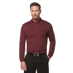 Grand Slam - Classic-Fit Solid Airflow Performance Golf Polo Shirt