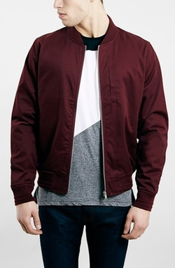 Topman - Cotton Bomber Jacket
