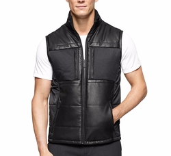 Calvin Klein  - Mixed-Media Padded Vest