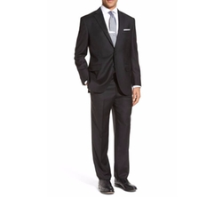 Peter Millar   -  Flynn Classic Fit Solid Wool Suit