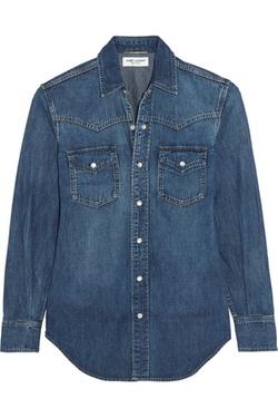 Saint Laurent  - Classic Denim Shirt