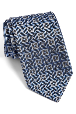 JZ Richards - Richards Geometric Silk Tie