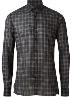Lanvin   - Check Shirt