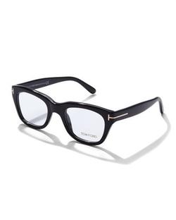 Tom Ford - Large Acetate Frame Fashion Glasses