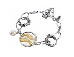 John Hardy - Dragon Pearl-Charm Link Bracelet