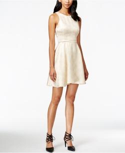 BCBGeneration - Jacquard Fit & Flare Dress