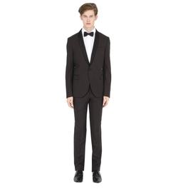 Manuel Ritz - Stretch Polka Dot Jacquard Tuxedo Suit