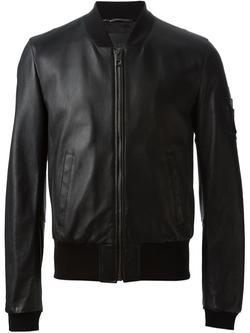 Dolce & Gabbana   - Zip Bomber Jacket