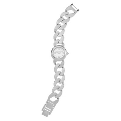 Journee Collection - Round Face Chain Link Watch