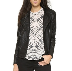 Black NYC - Vegan Moto Jacket