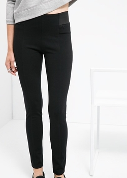 Mango - Zip Pocket Leggings