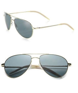 Oliver Peoples - Polarized Aviator Sunglasses
