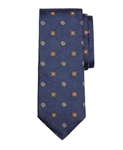 Brooks Brothers - Melange Spaced Medallion Tie