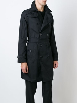 Emporio Armani - Belted Trench Coat