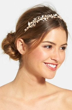 Wedding Belles New York  - Bead & Crystal Headband