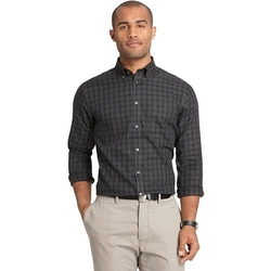 Van Heusen  - Plaid Classic-Fit Button-Down Shirt