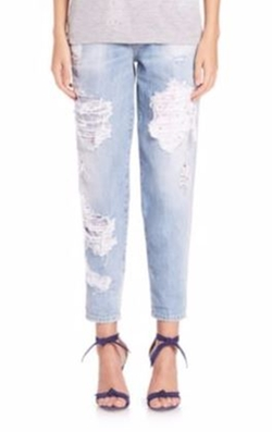 Dsquared2 - Hockney Distressed Straight-Leg Jeans