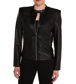 Peter Nygard - Leather Moto Jacket