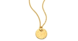 Monica Vinader - Ziggy Round Pendant Necklace