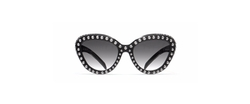 Prada - Studded Cat Eye Sunglasses