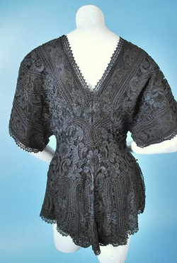 Antique & Vintage Clothing - Fancy Tape Lace Jacket