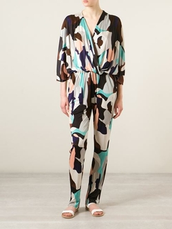 MSGM - Graphic Print Jumpsuit
