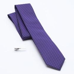 Apt. 9 - Columbus Circle Dot Skinny Tie