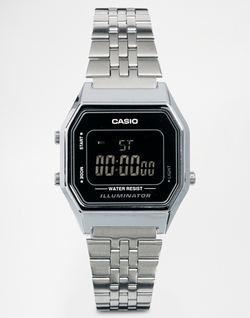 Casio - Digital Black Face Watch