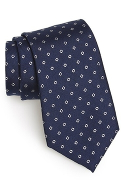 Calibrate - Traill Neat Geometric Silk Tie