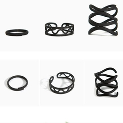 Nachonia - Alloy Knuckle Ring