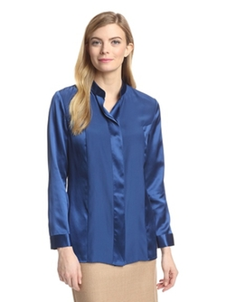 Magaschoni  - Silk Charmeuse Blouse