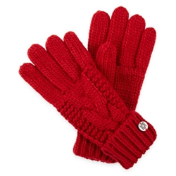 Liz Claiborne - Braided Cable Knit Gloves