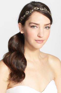 Nina - Floral Crystal Headband