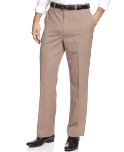 Louis Raphael - Straight-Fit Wool Dress Pants