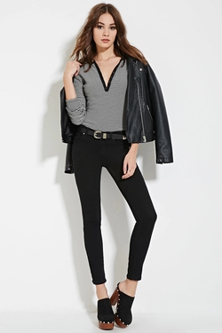 Forever21 - Classic Solid Skinny Jeans