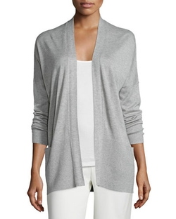 Vince - Cashmere-Silk Open-Front Cardigan