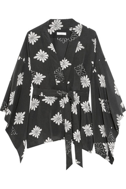Equipment  - Elias Printed Washed-Silk Robe