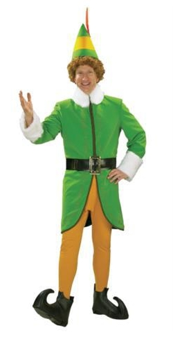 Fantasy Costumes - Buddy The Elf Deluxe Adult Costume