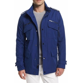 Michael Kors - Nylon-Blend Utility Jacket
