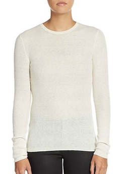 Theory  - Phoeby Rib-Knit Sweater